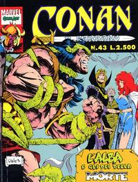 Cover Thumbnail for Conan il barbaro (Comic Art, 1989 series) #43