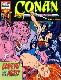 Cover Thumbnail for Conan il barbaro (Comic Art, 1989 series) #45