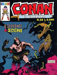 Cover for Conan il barbaro (Comic Art, 1989 series) #36