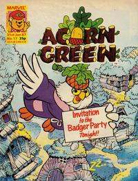Cover Thumbnail for Acorn Green (Marvel UK, 1986 series) #17