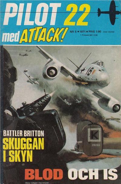 Cover for Pilot (Semic, 1970 series) #5/1971