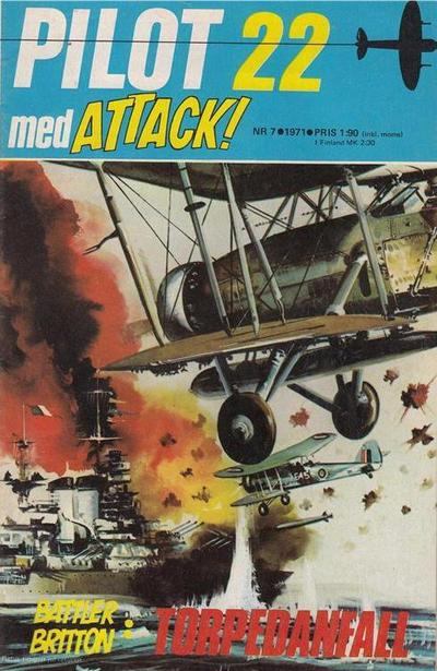 Cover for Pilot (Semic, 1970 series) #7/1971