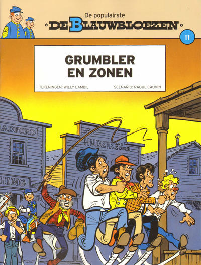 Cover for De Blauwbloezen (Dupuis, 2014 series) #11 - Grumbler en zonen