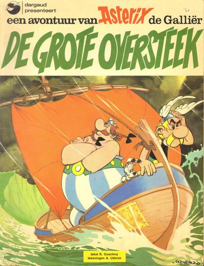 Cover for Asterix (Oberon; Dargaud Benelux, 1976 series) #[22] - De grote oversteek