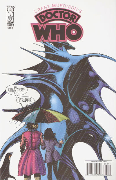 Cover for Grant Morrison's Doctor Who (IDW, 2008 series) #2