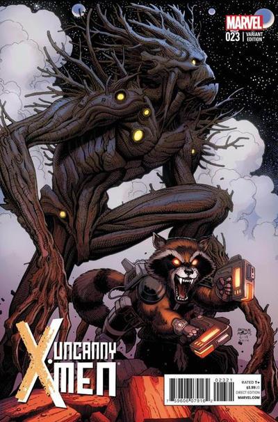 Cover for Uncanny X-Men (Marvel, 2013 series) #23