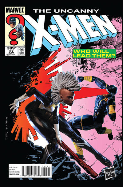 Cover for Uncanny X-Men (Marvel, 2013 series) #27 [Direct Edition]