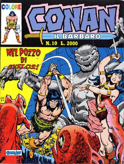 Cover for Conan il barbaro (Comic Art, 1989 series) #10