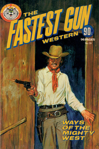 Cover for The Fastest Gun Western (K. G. Murray, 1972 series) #39