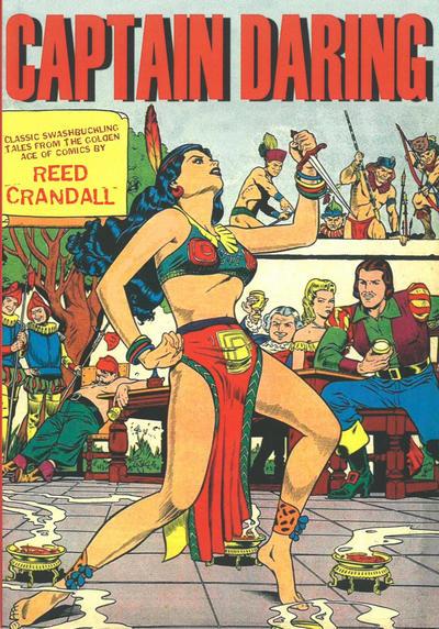 Cover for Captain Daring (Boardman Books, 2014 series)