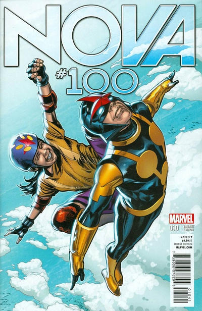 Cover for Nova (Marvel, 2013 series) #10 (100) [J.G. Jones Variant]