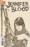 Cover Thumbnail for Jennifer Blood (2011 series) #11 [Black & White Retailer Incentive]