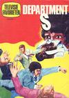 Cover for Televisie favorieten (Nederlandse Rotogravure Pers, 1970 series) #6 - Department S