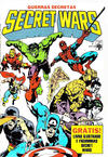 Cover for Secret Wars (Guerras Secretas) (Editora Abril, 1986 series) #1
