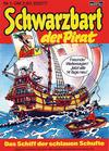 Cover for Schwarzbart der Pirat (Bastei Verlag, 1980 series) #1