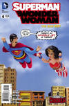 Cover Thumbnail for Superman / Wonder Woman (2013 series) #6 [Robot Chicken Cover]