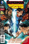 Cover for Superman / Wonder Woman (DC, 2013 series) #6 [Combo Pack]