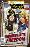 Cover for Superman / Wonder Woman (DC, 2013 series) #9 [DC Bombshells Variant Cover]