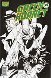 "Cover for Green Hornet (Dynamite Entertainment, 2010 series) #18 [Retailer Incentive ""Black, White & Green"" Phil Hester Cover ]"