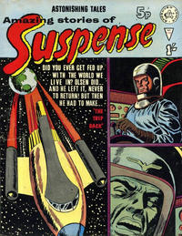 Cover Thumbnail for Amazing Stories of Suspense (Alan Class, 1963 series) #110