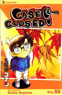 Cover for Case Closed (Viz, 2004 series) #52