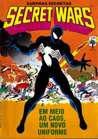 Cover Thumbnail for Secret Wars (Guerras Secretas) (Editora Abril, 1986 series) #8