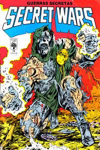 Cover Thumbnail for Secret Wars (Guerras Secretas) (Editora Abril, 1986 series) #10