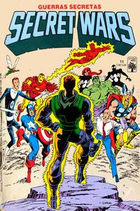 Cover Thumbnail for Secret Wars (Guerras Secretas) (Editora Abril, 1986 series) #11