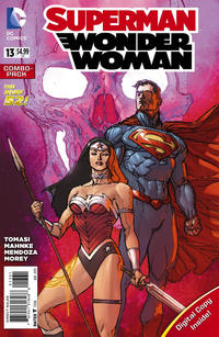 Cover Thumbnail for Superman / Wonder Woman (DC, 2013 series) #13 [Combo Pack]