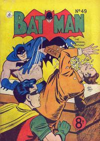 Cover Thumbnail for Batman (K. G. Murray, 1950 series) #49