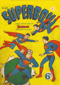 Cover Thumbnail for Superboy (K. G. Murray, 1949 series) #48 [Price difference]