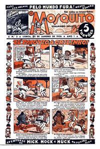 Cover Thumbnail for O Mosquito [Série 1] (Edições O Mosquito, Lda, 1936 series) #2