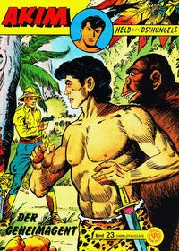 Cover Thumbnail for Akim Held des Dschungels (Norbert Hethke Verlag, 1996 series) #23