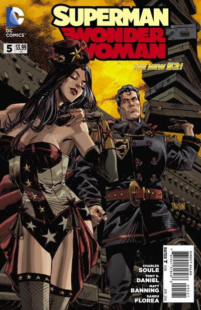 Cover for Superman / Wonder Woman (DC, 2013 series) #5 [Combo Pack]