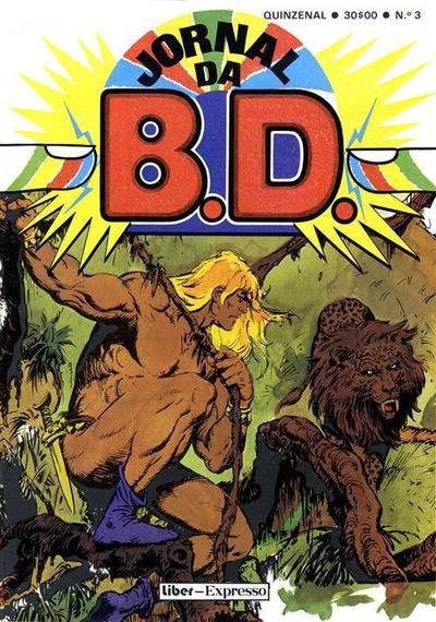 Cover for Jornal da B.D. (Sojornal, 1982 series) #3