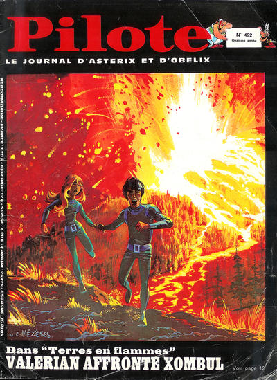 Cover for Pilote (Dargaud, 1960 series) #492