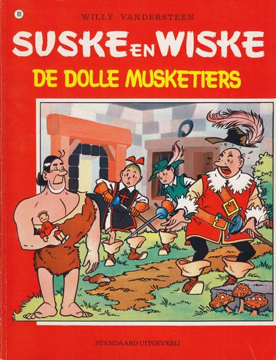 Cover for Suske en Wiske (Standaard Uitgeverij, 1967 series) #89 - De dolle musketiers