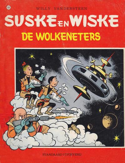 Cover for Suske en Wiske (Standaard Uitgeverij, 1967 series) #109 - De wolkeneters
