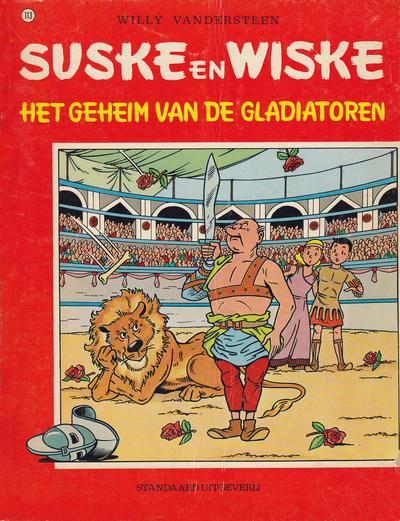 Cover for Suske en Wiske (Standaard Uitgeverij, 1967 series) #113 - Het geheim van de gladiatoren