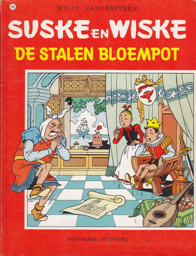Cover for Suske en Wiske (Standaard Uitgeverij, 1967 series) #145 - De stalen bloempot