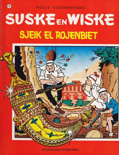 Cover for Suske en Wiske (Standaard Uitgeverij, 1967 series) #90 - Sjeik El Rojenbiet