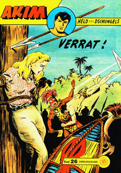Cover for Akim Held des Dschungels (Norbert Hethke Verlag, 1996 series) #26