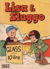 Cover for Lisa och Sluggo (Åhlén & Åkerlunds, 1950 series) #1960