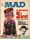 Cover for Mad (Williams Förlags AB, 1960 series) #1/1964