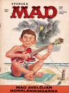 Cover for Mad (Williams Förlags AB, 1960 series) #8/1967