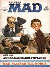 Cover for Mad (Williams Förlags AB, 1960 series) #9/1968