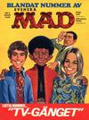 Cover for Mad (Williams Förlags AB, 1960 series) #3/1970