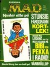 Cover for Mad (Williams Förlags AB, 1960 series) #3/1973