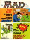 Cover for Mad (Williams Förlags AB, 1960 series) #6/1974
