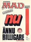 Cover for Mad (Williams Förlags AB, 1960 series) #2 1/2 /1976